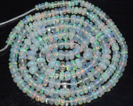 20.60 Ct Natural Ethiopian Welo Opal Beads Play Of Color