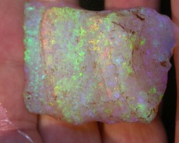 BIGGGG 237ct HIGH QUALITY BRAZILIAN CRYSTAL OPAL ROUGH CLEAN AND WITH NO CR