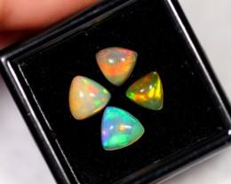 2.50ct Ethiopian Welo Polished Opal Lot