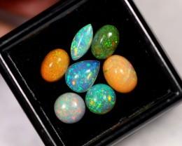 3.62ct Ethiopian Welo Polished Opal Lot