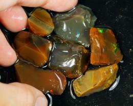 118cts Ethiopian Crystal Rough Opal Specimen Lot