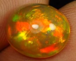 3.65cts Sparkling Flash Multi Fire Ethiopian Opal