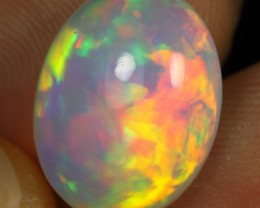 AAA 6.55cts Rainbow Patchwork Pattern Ethiopian Opal