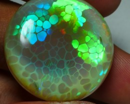 47.80 CRT HUGE DOUBLE SIDE PERFECT HONEYCOMB NEON WELO OPAL-