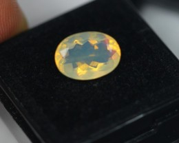 2.40Ct Natural Ethiopian Welo Faceted Opal Lot JA68