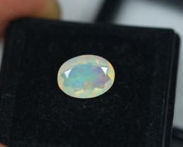 1.27Ct Natural Ethiopian Welo Faceted Opal Lot JA70