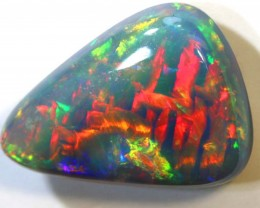 N2 -2.89- CTS QUALITY BLACK OPAL POLISHED STONE INV-1037