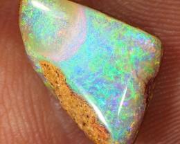 4.2ct 12x10mm Pipe Wood Fossil Boulder Opal  [LOB-2105]