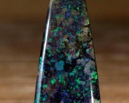 15.8ct Bright flashes, Andamooka Matrix Opal, Australian Solid Opal, Real O