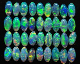 2.05CTS PARCEL OF CRYSTAL OPALS CALIBRATED ZI267