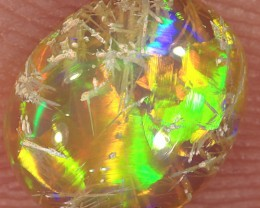 0.9ct 8x6.5mm Solid Lightning Ridge Crystal Opal [LO-1180]