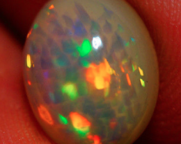 1.98 CT 10X8 MM AAA QUALITY 3D HONEY COMB FLASHY WELO ETHIOPIAN OPAL-JI 900