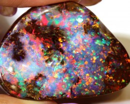 75.45-CTS QUALITY BOULDER OPAL POLISHED STONE  INV-display