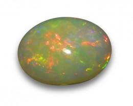 34.58 ct Oval Ethiopian Opal
