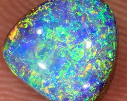 1.25ct 7x7mm Pipe Wood Fossil Boulder Opal  [LOB-2112]