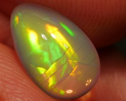 3.33 ct Bright Golden Ethiopian Welo Opal - FREE INSURED SHIPPING