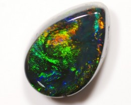 0.99 ct Black Opal from Lightning Ridge - Insured Shipping