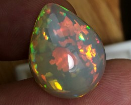 16.70 cts World Class Ethiopian Opal - Digital Puzzle Pattern - & Prism