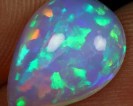 2.40cts Superb Strong Rainbow Puzzle Natural Ethiopian Welo Opal