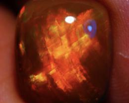 4.64 CT REDFLASH! PATTERN BEAUTIFUL FLASHY MULTICOLOR WELO ETHIOPIAN OPAL-J
