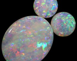1.84 CTS SOLID OPAL PARCEL SET 3 [C-SAFE119]
