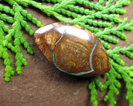 "19cts, ""BOULDER OPAL~ELECTRIC FLASH"""
