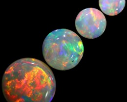 1.35 CTS SOLID OPAL PARCEL SET 4[C-SAFE147]