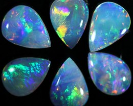 1.36 CTS SOLID OPAL PARCEL SET 6[C-SAFE159]