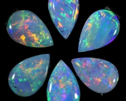 1.68 CTS SOLID OPAL PARCEL SET 6[C-SAFE166]