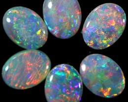 2.94 CTS SOLID OPAL PARCEL SET 6[C-SAFE170]