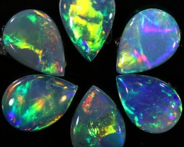 1.51 CTS SOLID OPAL PARCEL SET 6[C-SAFE173]
