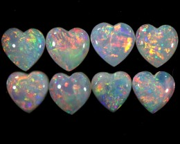 2.30 CTS HEART SHAPE SOLID OPAL CALIBRATED PARCEL [C-SAFE213]