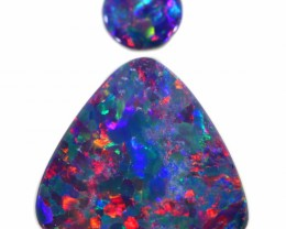 4.33 CTS OPAL DOUBLETS FIERY SET 2[SAFE288]