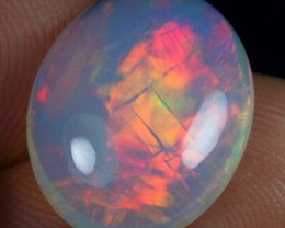 7.50cts Dazzled Flash Multi Fire Natural Ethiopian Welo Opal