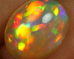 5.25cts 5/5 Neon Patchwork Natural Ethiopian Welo Opal