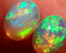 NR Cts.1.60   Pair  Ethiopian Wello Opal   RT780