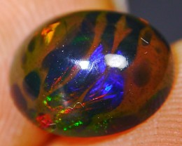 Ethiopian Celled Pattern Opal Smoked 1.50 CT