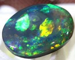 N3 -3.8  CTS QUALITY BLACK OPAL POLISHED STONE INV-1048
