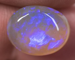 CRYSTAL OPAL LIGHTNING RIDGE SOLID NATURAL 7.70ct GEM $1 N/R AUCTION CO1510