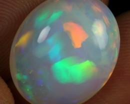 6.60cts Rainbow Cascade Pattern Natural Ethiopian Welo Opal