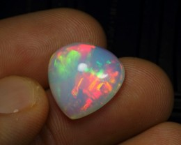 9.30cts Superb Strong Rainbow Fire Natural Ethiopian Welo Opal