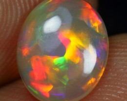 Free Shipping 1.40cts Superb Strong Neon Patchwork Ethiopian Opal