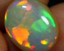 Free Shipping- Top AAA 6.80cts Flagstone Pattern Ethiopian Opal