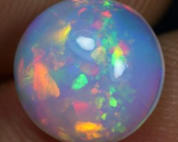 Black Friday 20% Offer 2.60cts Broad Rainbow Fire Ethiopian Opal