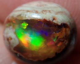 2.94ct Mexican Cantera Fire Opal Landscape Top Polished Cabochon Specimen