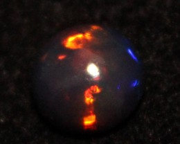 1.30 Crt Natural Fire Ethiopian Smoked Opal Cabochon 1109
