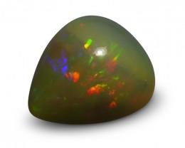 5.22 ct  Pear Cabochon Opal