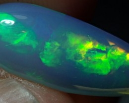 3.7ct Blazing Ethiopian Fire Opal Awesome NR Specimen