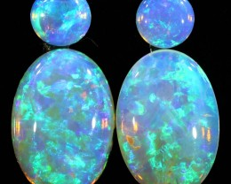 3.00CTS SET 4 STONES PARCEL COOBER PEDY -GREAT COLOR PLAY -S901