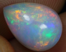 4.90cts Astonished Flash Rainbow Fire Ethiopian Opal